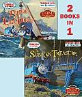 Thomas and the Pirate/ The Sunken Treasure (Thomas & Friends) (Pictureback)