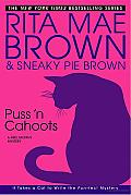 Puss 'N Cahoots: A Mrs. Murphy Mystery Cover