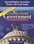 Holt McDougal United States Government Spanish/English Interactive Reader and Study Guide: Principles in Practice