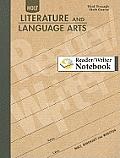 Holt Literature and Language Arts Reader/Writer Notebook: Third Through Sixth Course
