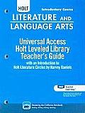 Holt Literature and Language Arts: Universal Access Level Library, Introductory Course