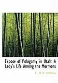 Exposac of Pologamy in Utah: A Lady's Life Among the Mormons (Large Print Edition)