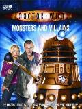 Doctor Who: Monsters and Villains (Doctor Who) Cover
