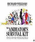 The Animator's Survival Kit: A Manual of Methods, Principles, and Formulas for Classical, Computer, Games, Stop Motion, and Internet Animators (Applied Arts) Cover