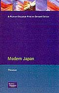 Modern Japan: A Social History Since 1868