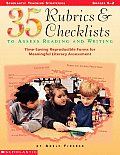 35 Rubrics & Checklists to Assess Reading and Writing