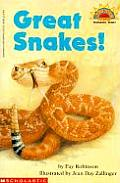 Great Snakes! (Hello Reader!)