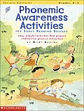 Phonemic Awareness Activities for Early Reading Success Easy Playful Activities That Help Prepare Children for Phonics Instruction