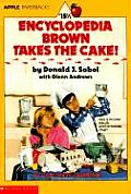 Encyclopedia Brown #15: Encyclopedia Brown Takes the Cake! Cover