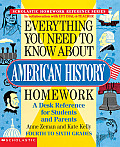 Everything You Need to Know about American History Homework (Everything You Need to Know about) Cover