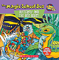 The Magic School Bus Butterfly and the Bog Beast: A Book about Butterfly Camouflage Cover