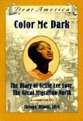 Dear America Color Me Dark the Diary of Nellie Lee Love the Great Migration North Chicago Illinois 1919
