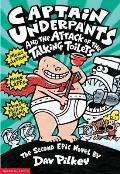 Captain Underpants #02: Captain Underpants and the Attack of the Talking Toilets