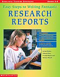 Easy Steps To Writing Fantastic Research