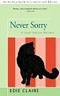 Never Sorry: A Leigh Koslow Mystery