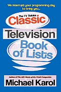 The TV Tidbits Classic Television Book of Lists Cover