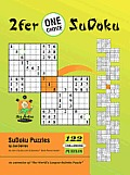 2fer 'One Choice' SuDoku