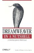 Dreamweaver in a Nutshell (In a Nutshell) Cover