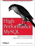 High Performance MySQL 1st Edition