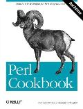 Perl Cookbook Cover