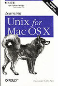 Learning Unix for the Mac OS X Cover