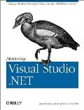 Mastering Visual Studio .Net Cover