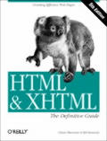 HTML & XHTML The Definitive Guide 5th Edition