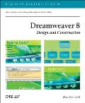 Dreamweaver 8 Design and Construction