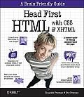 Head First HTML with CSS and XHTML Cover