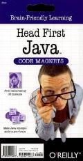 Head First Java Code Magnet Kit (Head First) Cover