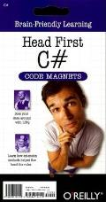 Head First C# Code Magnet Kit (Head First) Cover