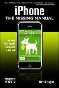 iPhone The Missing Manual 1st Edition