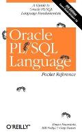 Oracle PL/SQL Language Pocket Reference Cover