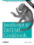 JavaScript & DHTML Cookbook 2nd Edition
