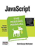 JavaScript The Missing Manual 1st Edition