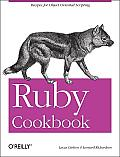 Ruby Cookbook  Cover