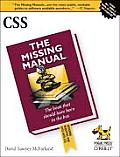 CSS The Missing Manual 1st Edition