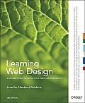Learning Web Design: A Beginner's Guide to XHTML, Style Sheets, and Web Graphics Cover