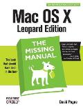 Mac OS X Leopard (Missing Manual) Cover