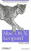 Mac OS X Leopard Pocket Guide Cover