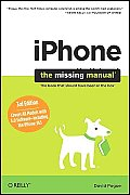 Iphone: The Missing Manual: Covers All Models with 3.0 Software-Including the Iphone 3gs