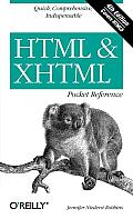 HTML & XHTML Pocket Reference (Pocket Reference) Cover
