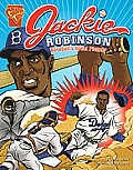 Jackie Robinson: Baseball's Great Pioneer (Graphic Library: Graphic Biographies)