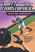 Out at Second (Matt Christopher Sports Classics) Cover
