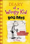 Diary of a Wimpy Kid #04: Diary of a Wimpy Kid #4 - Dog Days Cover