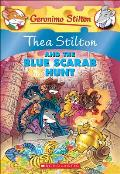 Thea Stilton and the Blue Scarab Hunt (Geronimo Stilton) Cover