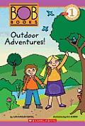 Outdoor Adventures! (Scholastic Reader Bob Books - Level 1)