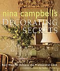 Nina Campbells Decorating Secrets Easy Ways to Achieve the Professional Look