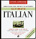 Ultimate Italian: Basic-Intermediate with Book (Living Language Ultimate Courses) Cover