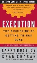 Execution: The Discipline of Getting Things Done Cover